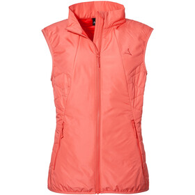 Schöffel Moritzberg Insulated Vest Women, georgia peach